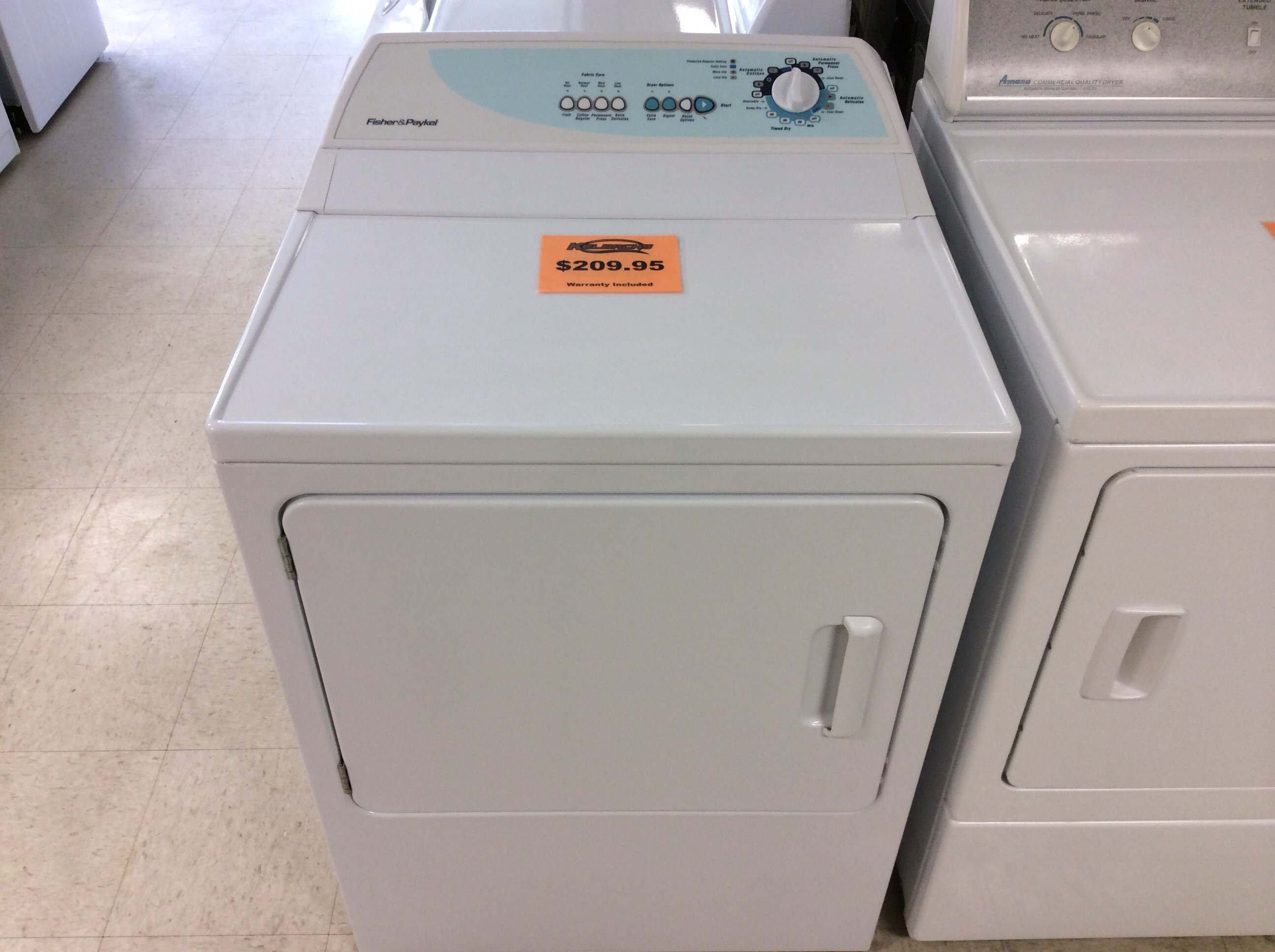 Fisher Amp Paykel Electric Dryer Kelbachs