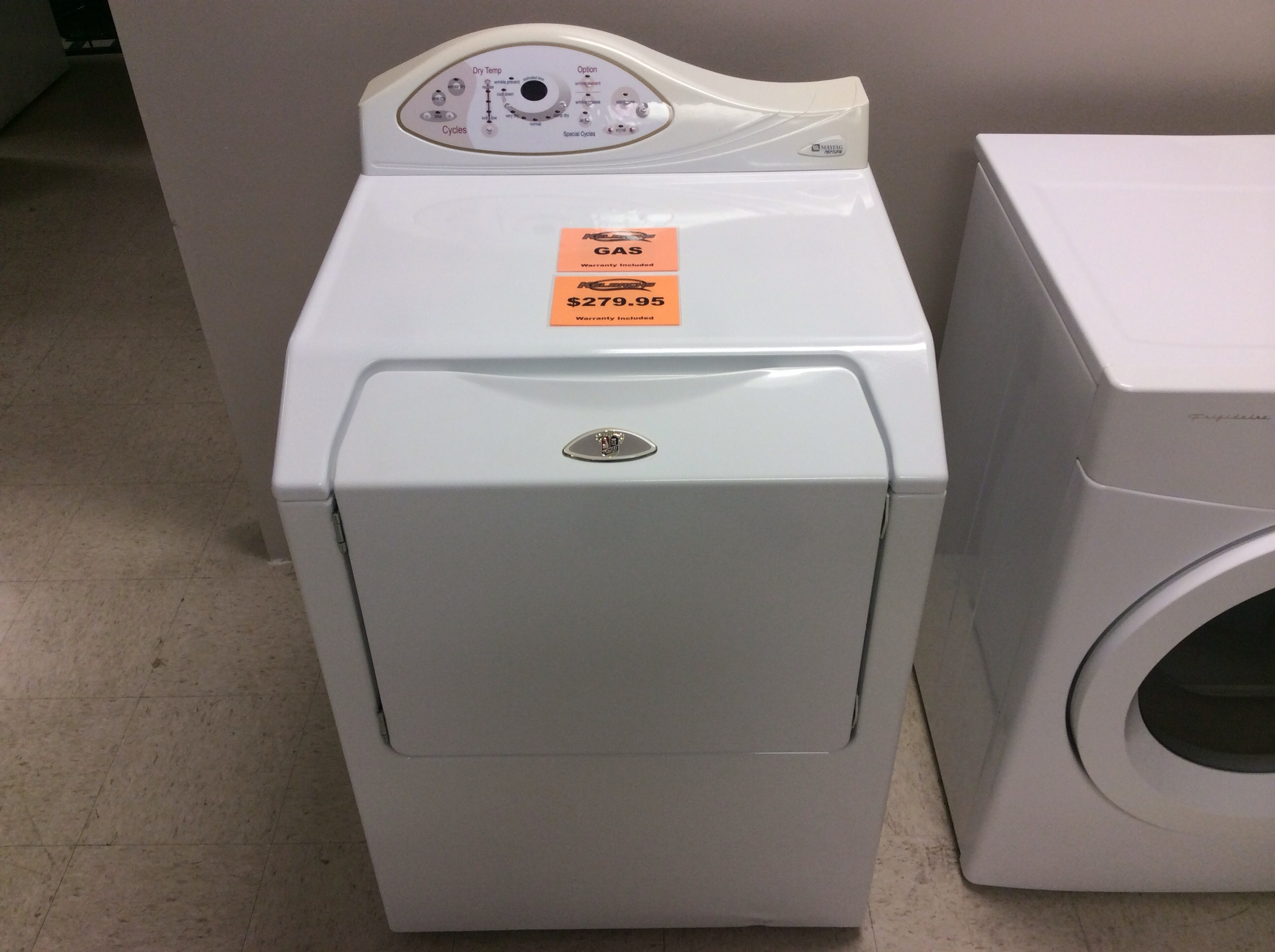 Maytag Neptune Gas Dryer Kelbachs