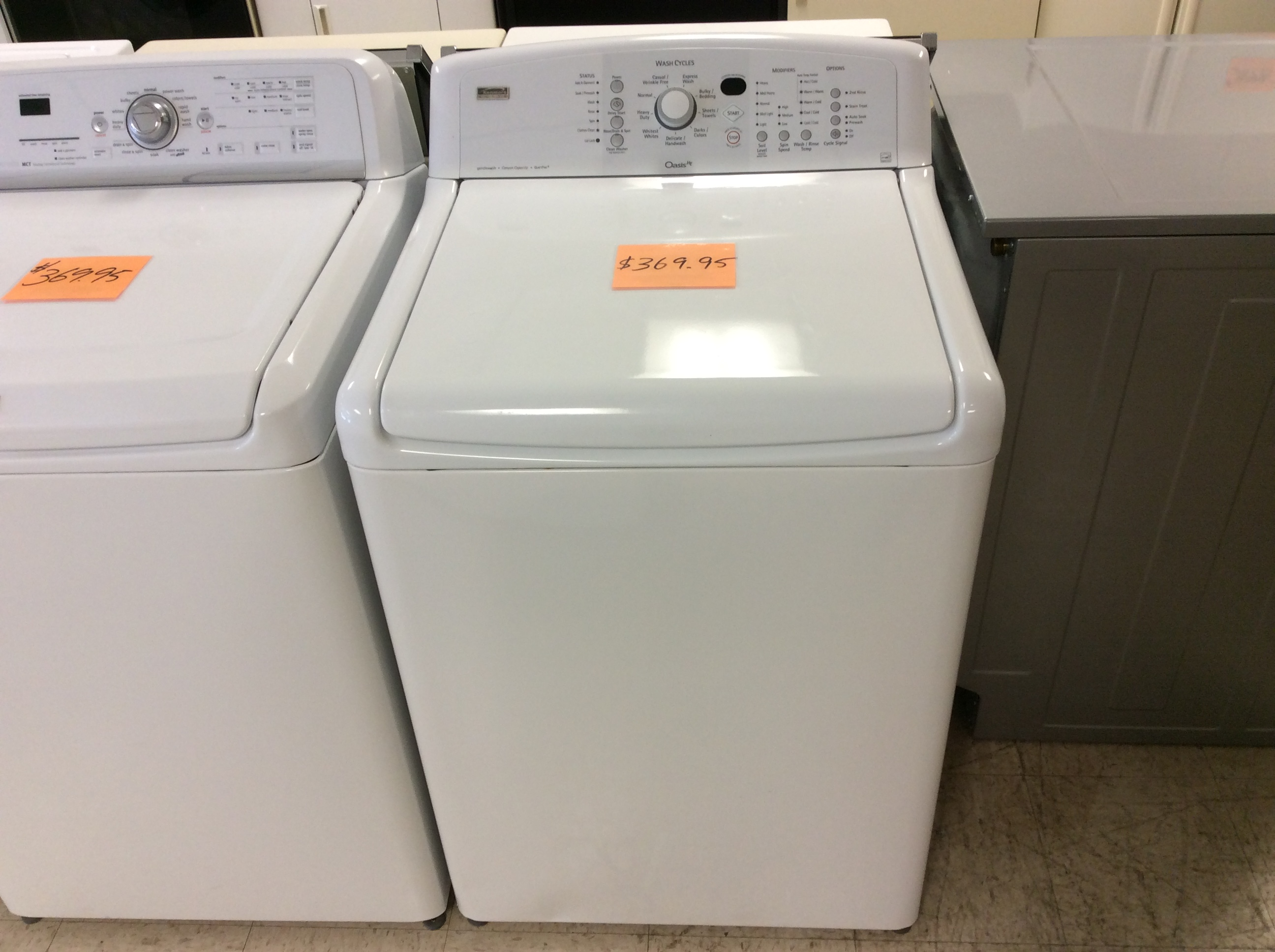 Kenmore Elite Top load washing machine problems Owners Manual
