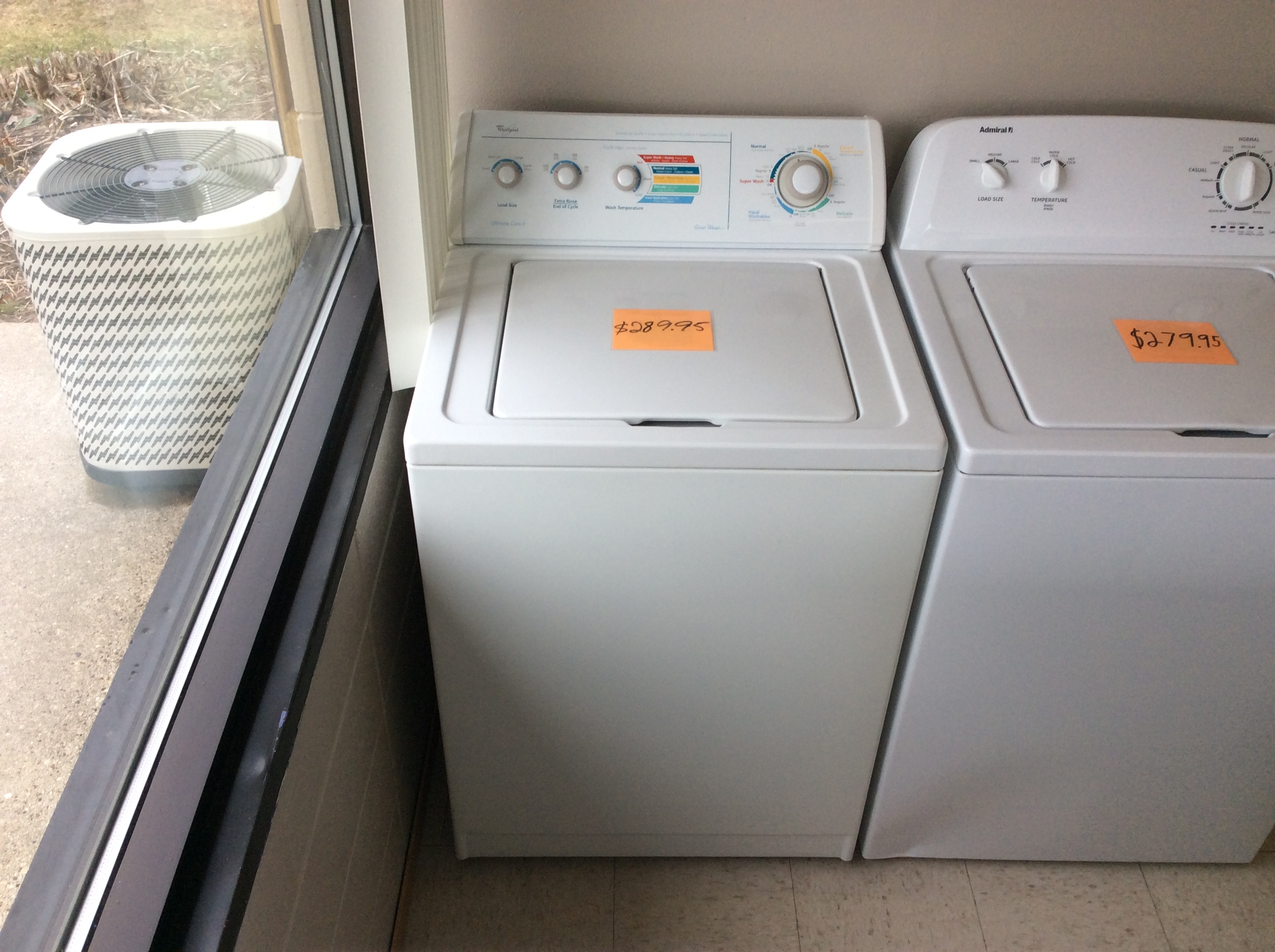 Whirlpool Ultimate Care 2 Top Load Washer Kelbachs